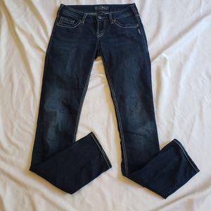 3/$20 Silver berkely straight leg jean 26 low rise